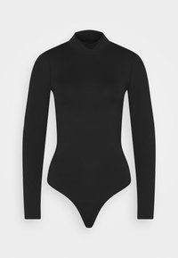 Abercrombie & Fitch - SEAMLESS MOCK BODYSUIT  - Long sleeved top - black - 3