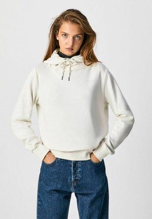 Bluza z kapturem - mousse