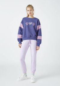 PULL&BEAR - Sweatshirt - mottled purple - 1