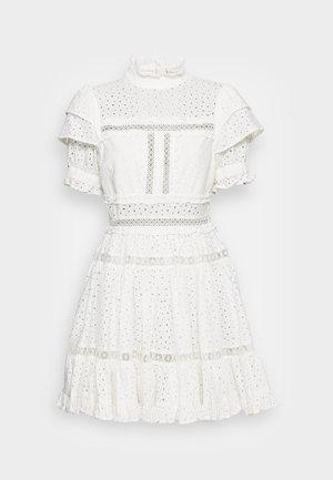 IRO MINI LACE DRESS - Shirt dress - white