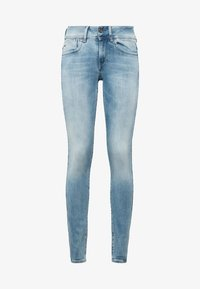 G-Star - LYNN MID SKINNY  - Jeans Skinny Fit - sun faded blue - 5