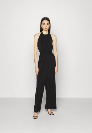 HALTERNECK - Jumpsuit - black
