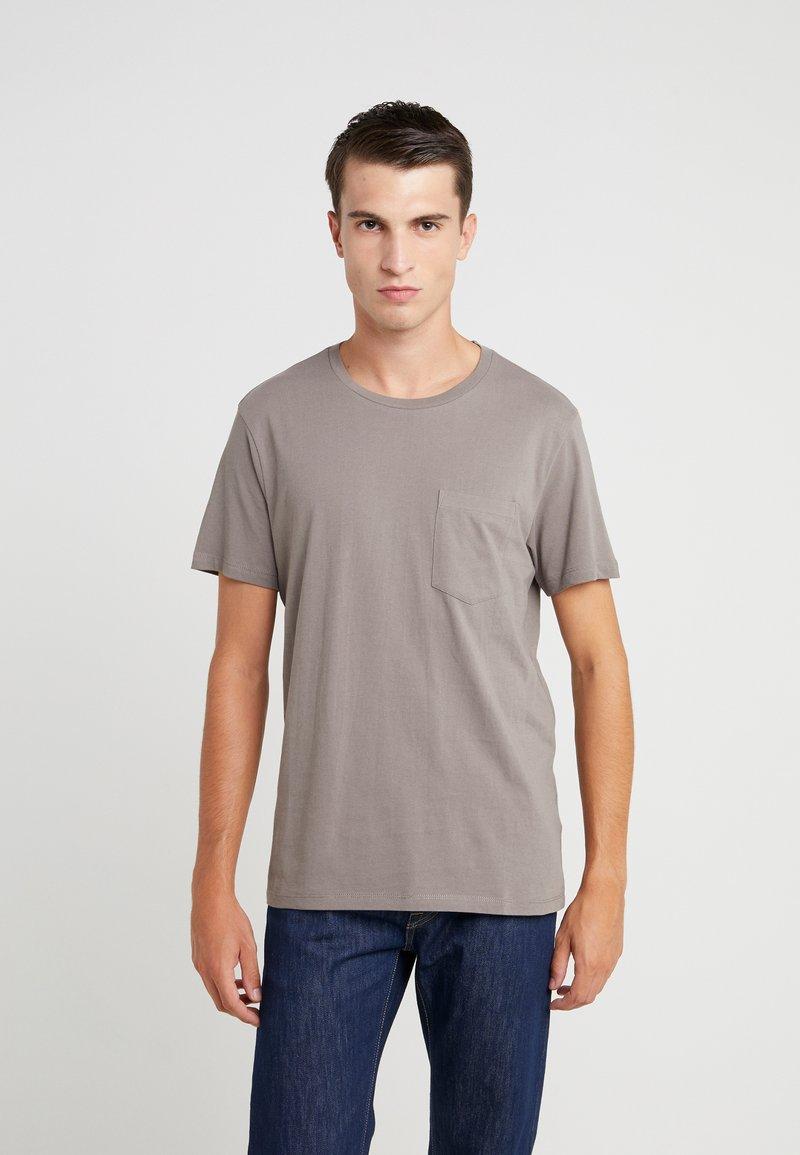 Club Monaco - WILLIAMS - T-shirt - bas - fossil beige