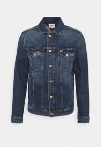 REGULAR TRUCKER JACKET - Denim jacket - denim dark