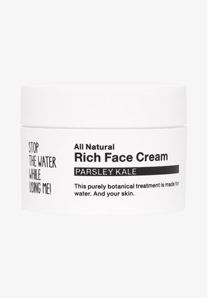 ALL NATURAL PARSLEY KALE RICH FACE CREAM - Face cream - black/white