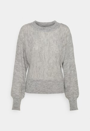 VMVILMA BATWING - Jumper - light grey