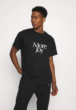 MORE JOY UNISEX - T-shirt print - black