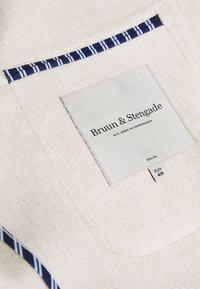 Bruun & Stengade - NAPLES SLIM - Kavaj - sand - 4