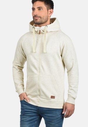 SPEEDY - Zip-up sweatshirt - sand