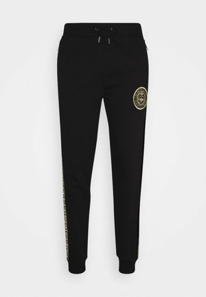 RODELL JOGGER - Trainingsbroek - black/gold