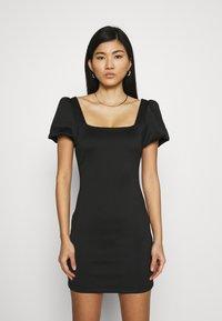 Guess - SASKIA DRESS - Jersey dress - jet black - 0