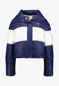 Puma - PUMA X SELENA GOMEZ CROP PUFFER - Winter jacket - peacoat - 3