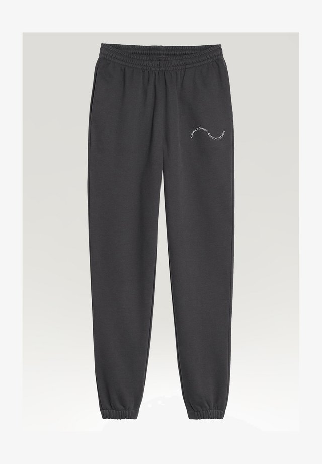 EASY GOING - Tracksuit bottoms - phantom
