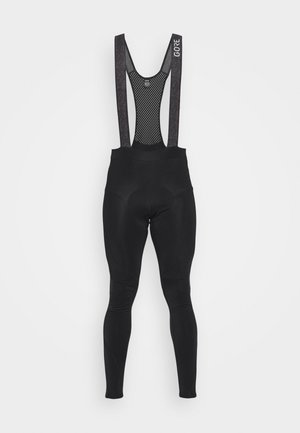 C5 THERMO TRÄGERHOSE - Leggings - black