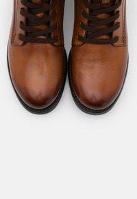Bugatti - SINJA - Lace-up ankle boots - cognac - 5