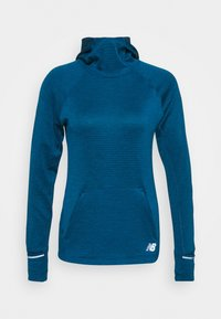 New Balance - HEAT GRID HOODIE - Hoodie - blue - 5