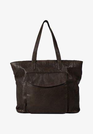 ALESIA - Tote bag - brown