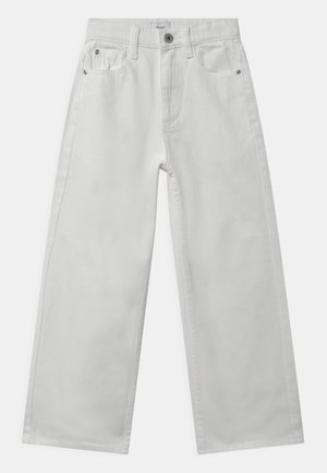 WIDE LEG  - Relaxed fit jeans - white