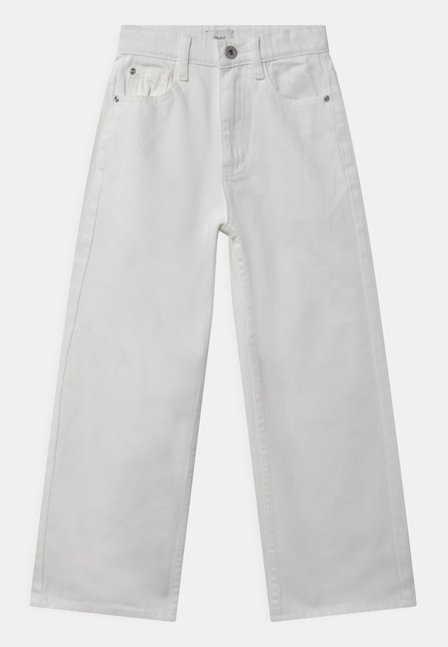 WIDE LEG  - Jeans relaxed fit - white