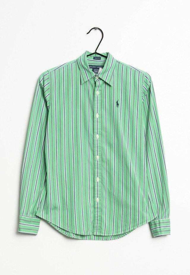 Overhemdblouse - green