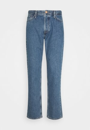 JJICHRIS JJORIGINAL - Jeansy Straight Leg - blue denim