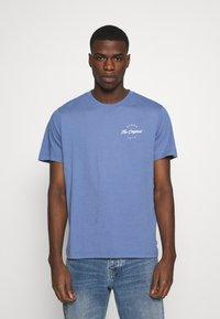 Levi's® - TEE - Print T-shirt - PLACE COLONY BLUE - 0