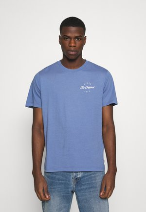 TEE - Print T-shirt - PLACE COLONY BLUE