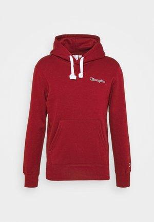 HOODED - Sweater - dark red