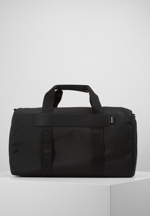 NASTRO LOGO WEEKENDER - Sac week-end - black