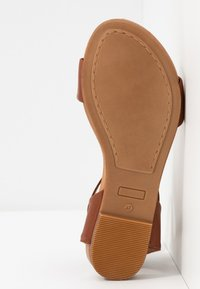 Anna Field - LEATHER  - Sandals - cognac - 6