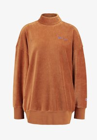 Champion Reverse Weave - HIGH NECK - Sweater - brown - 3