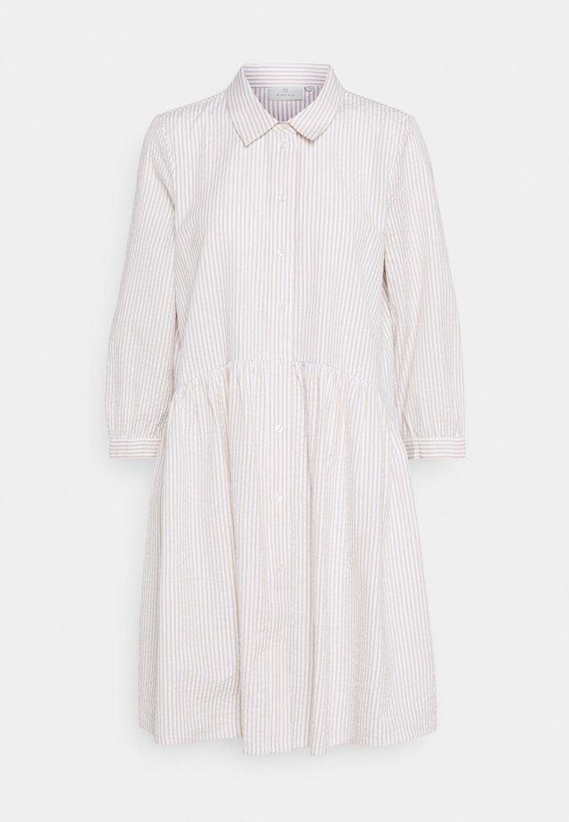 KAKAMAKA TUNIC - Shirt dress - chalk