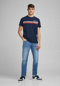 Jack & Jones - Straight leg jeans - blue denim - 3