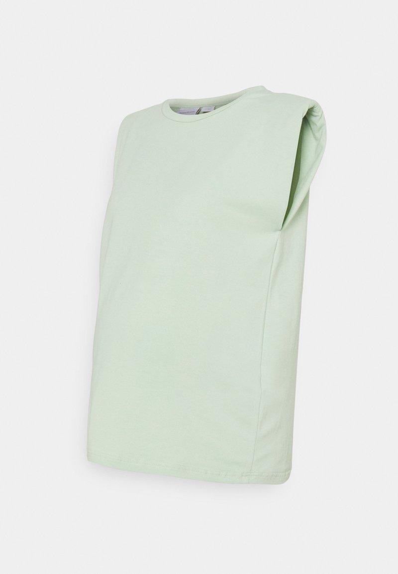 MAMALICIOUS - MLNILLA TANK - Basic T-shirt - cameo green
