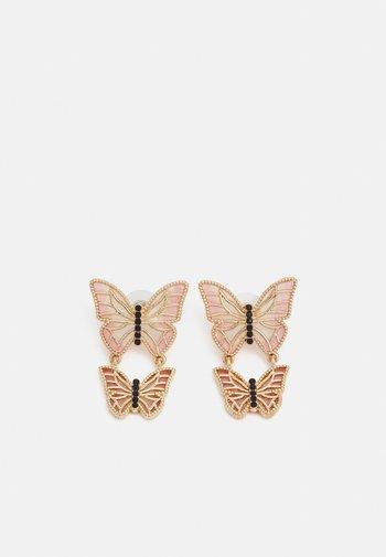 Øredobber - gold-coloured