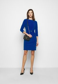 Lauren Ralph Lauren - BONDED DRESS - Shift dress - french ultramarin - 1