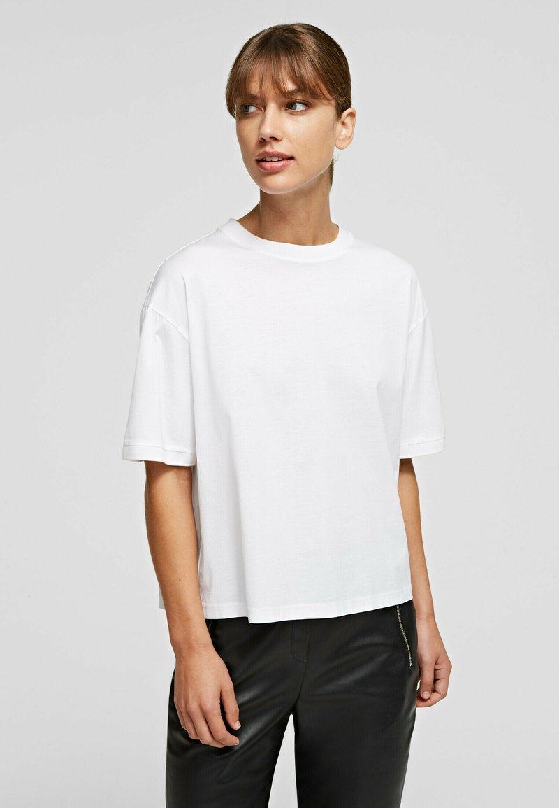 KARL LAGERFELD - Basic T-shirt - white
