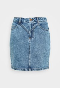 ONLCORA REG LIFE SKIRT - A-line skirt - medium blue denim