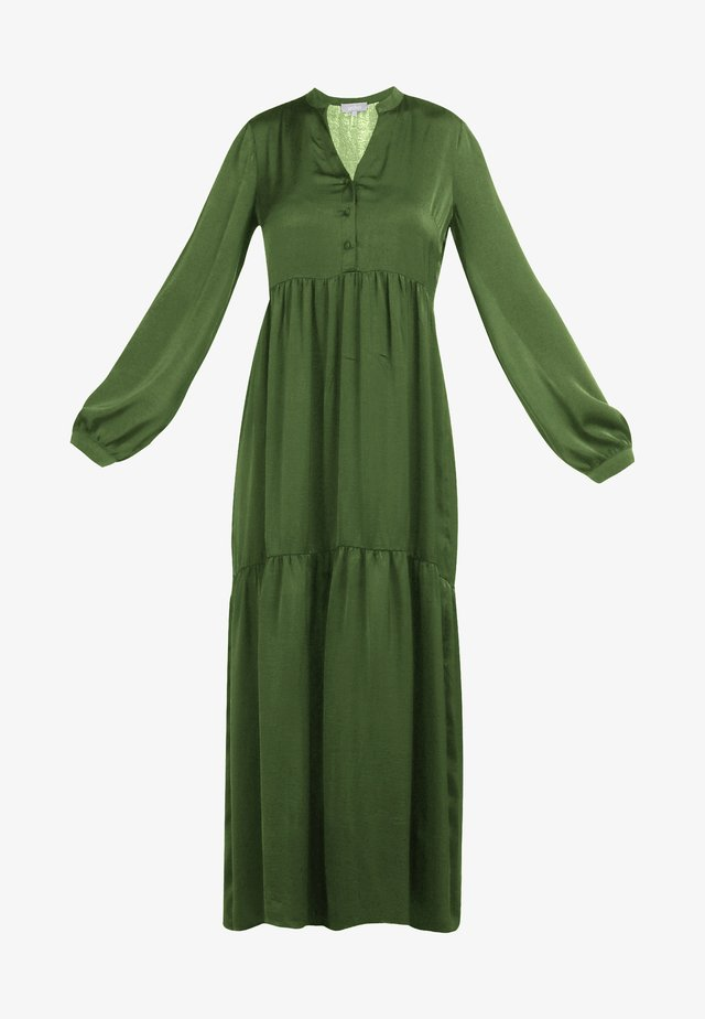 SATINKLEID - Maxi dress - olive