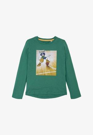 Print T-shirt - greenlake|green