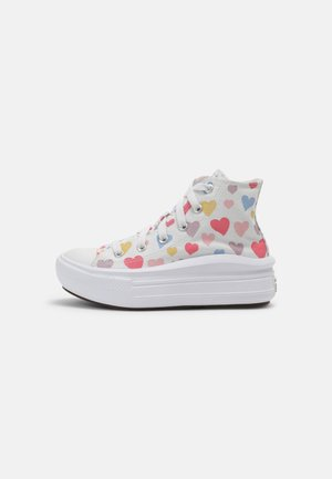 CHUCK TAYLOR ALL STAR MOVE HEARTS - Sneakers hoog - white/pink salt