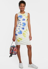 Desigual - Shift dress - white - 1