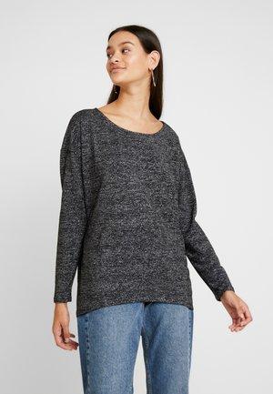 ONLFREJA ELCOS - Long sleeved top - black