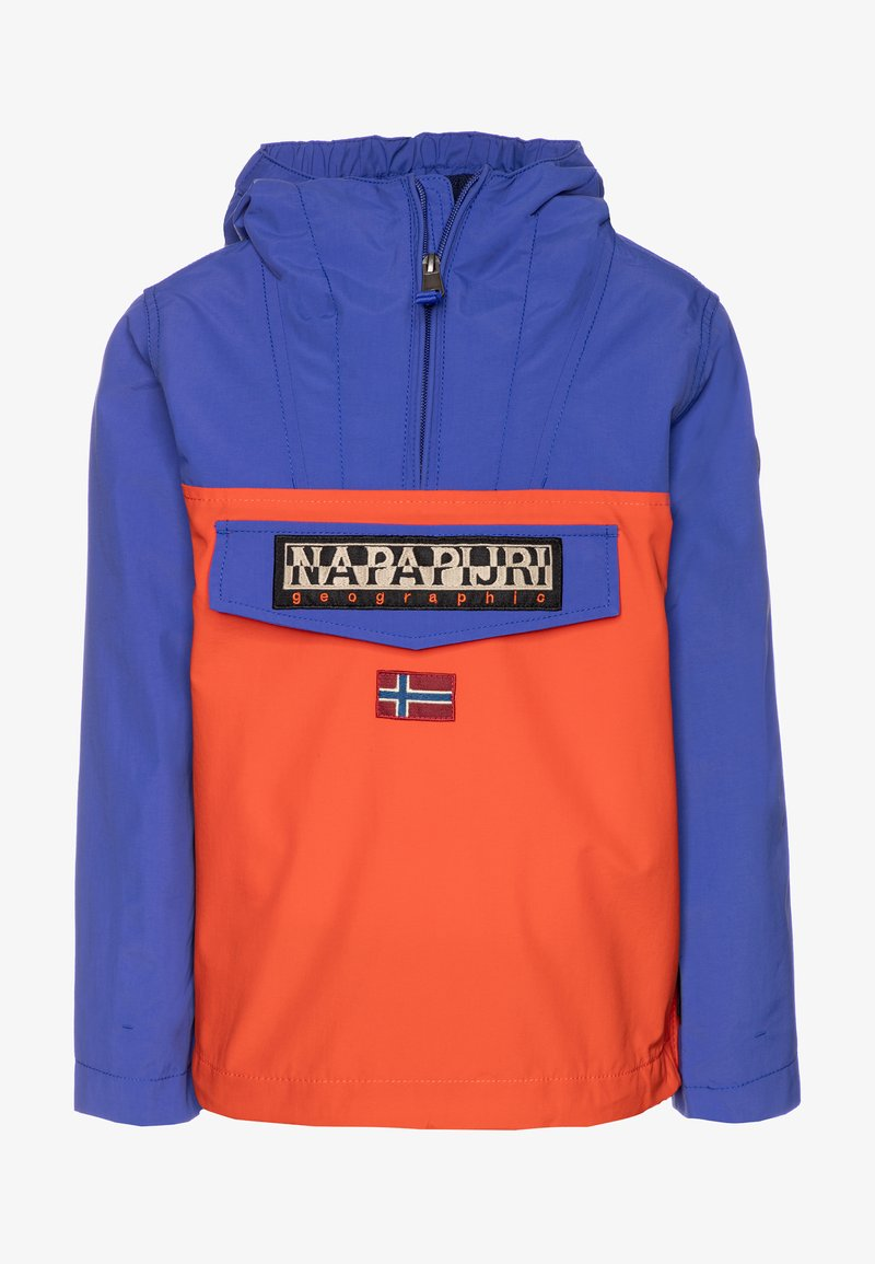 Napapijri - RAINFOREST SUMMER CB - Waterproof jacket - orangeade