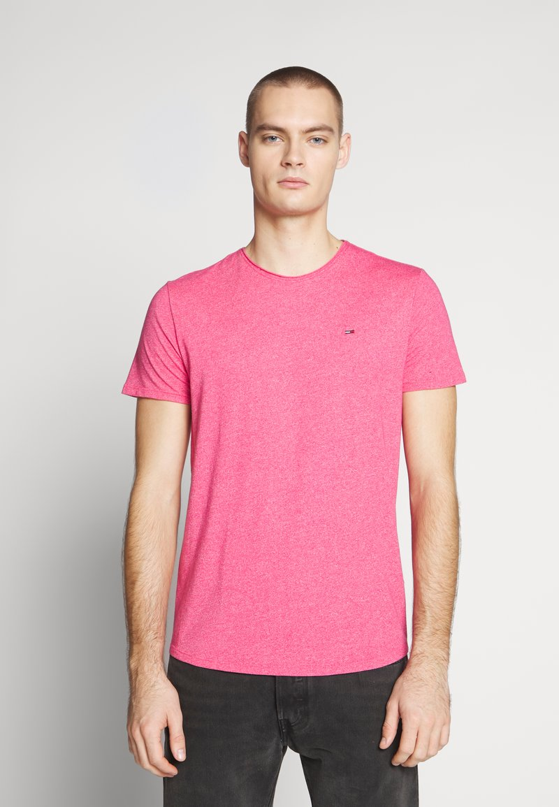 Tommy Jeans - ESSENTIAL JASPE TEE - Basic T-shirt - bright cerise pink