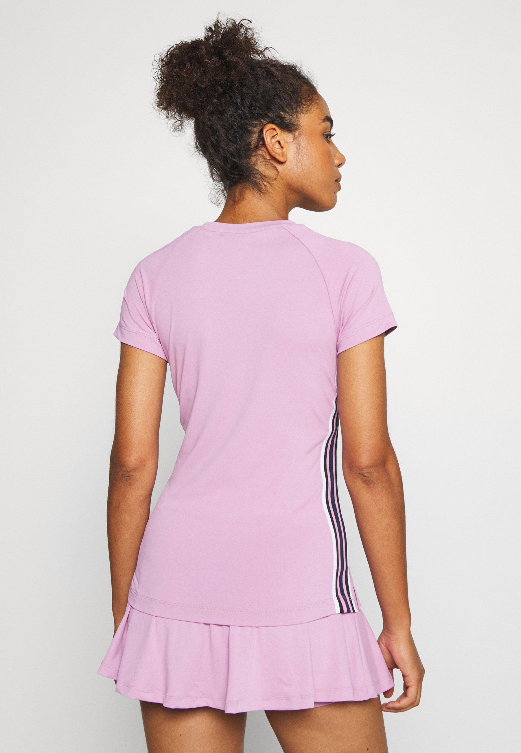 Björn Borg TESIA TEE - Print T-shirt - violet tulle fsrKG