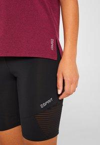 Esprit Sports - Print T-shirt - dark pink - 3