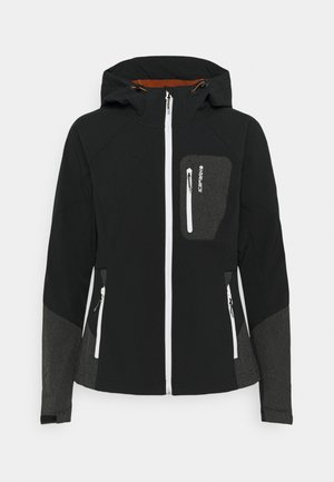 DIEZ - Softshell jakker - black