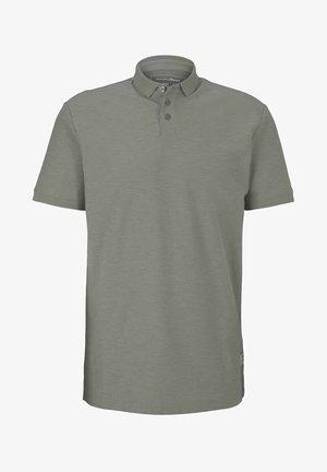 Polo shirt - greyish shadow olive