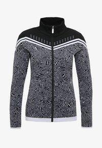 Icepeak - EMELLE - Zip-up hoodie - black/white - 5
